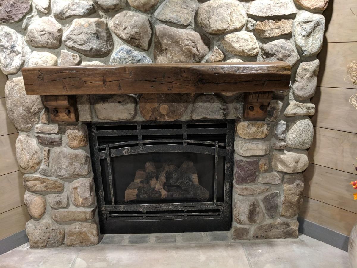 Rough Sawn Fireplace Mantels Fireplaces