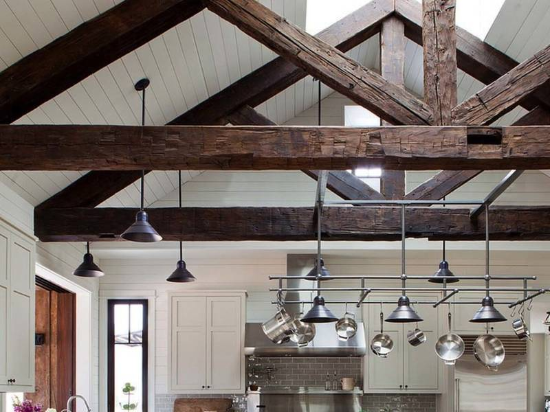 Wood Ceiling Beams Hollow In Nj Ny Ct Pa Li