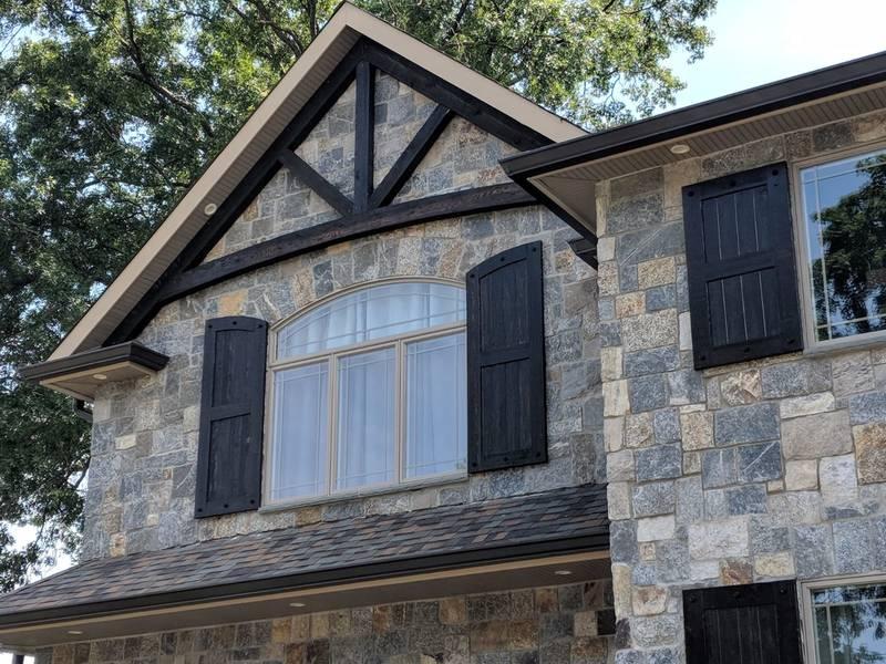 Custom cedar gates, entry doors, custom wood shutters NJ NY CT PA ...