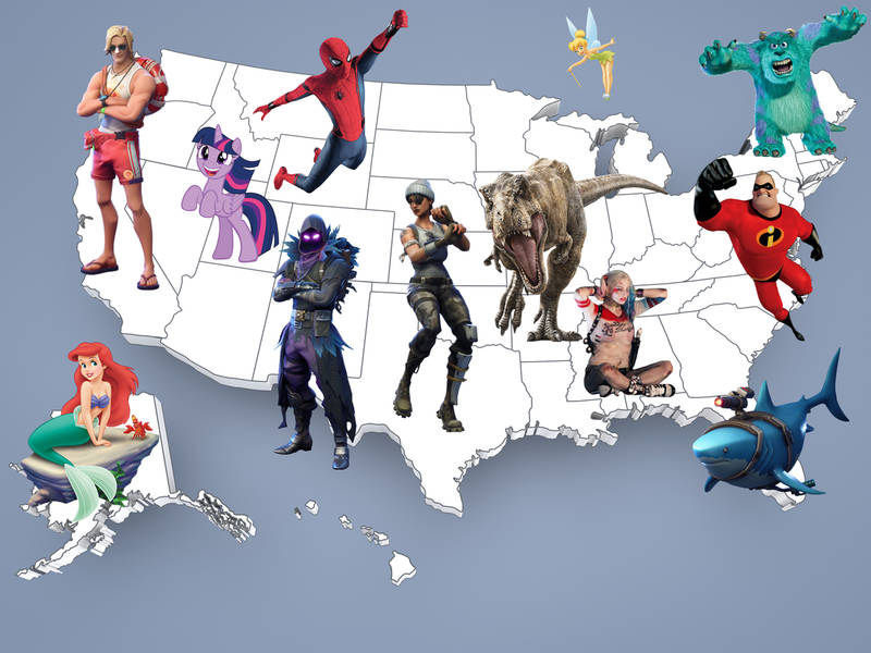halloween costumes 2018 see most popular ideas in every state