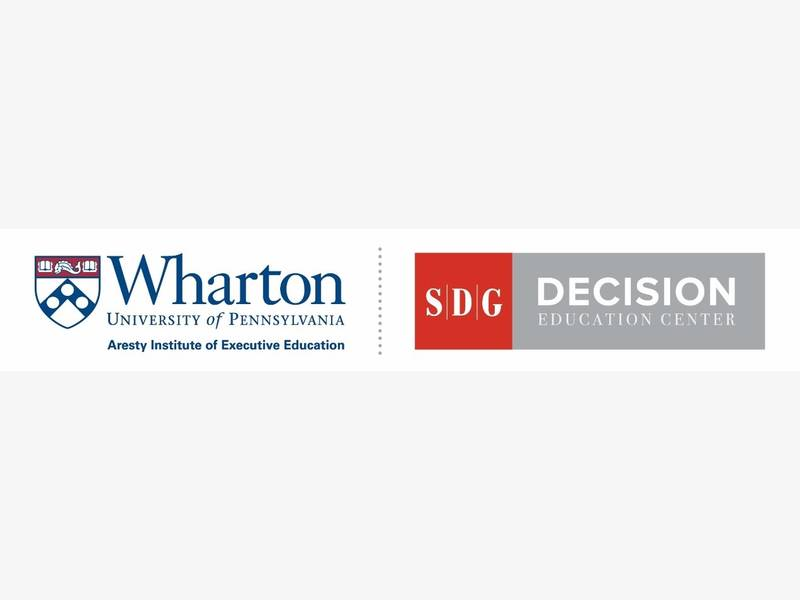 Wharton And Sdg To Offer New Certificate Program Philadelphia Pa