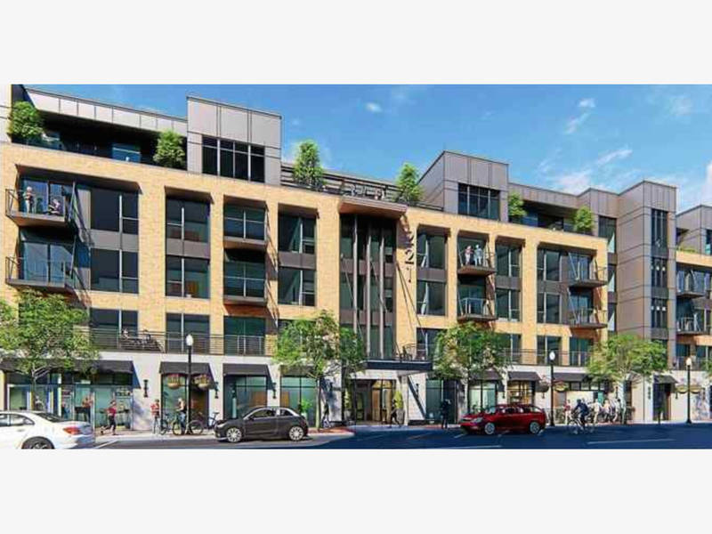Five story apartment slated for downtown royal oak royal oak mi patch for 2 bedroom apartments royal oak mi