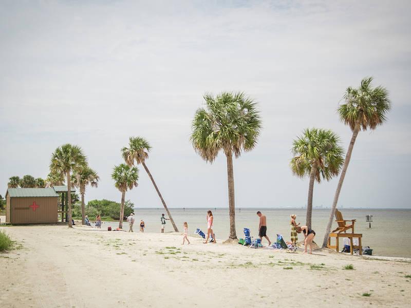 Simmons Park Beach Ruskin Fl