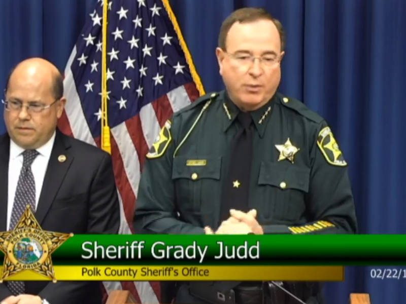 Sheriff Grady Judd Famous Quotes: Polk Sheriff Proposes Arming School Staff To Protect