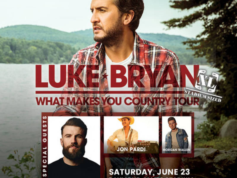 Tampa 4th Stop On Luke Bryan's 'What Makes You Country ...