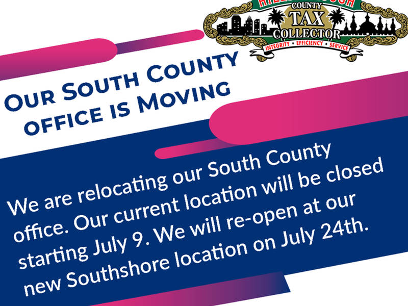 tax collector to open new southshore office july 24 | bloomingdale ...