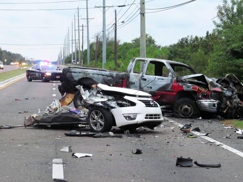 Florida Car Accident: Man Killed When Car Cut In Half During Ruskin Crash