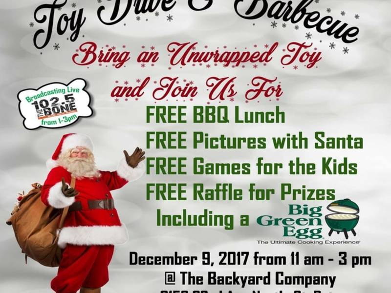 Toys For Tots Flyer 2017 : Giving back third annual toys for tots toy drive st