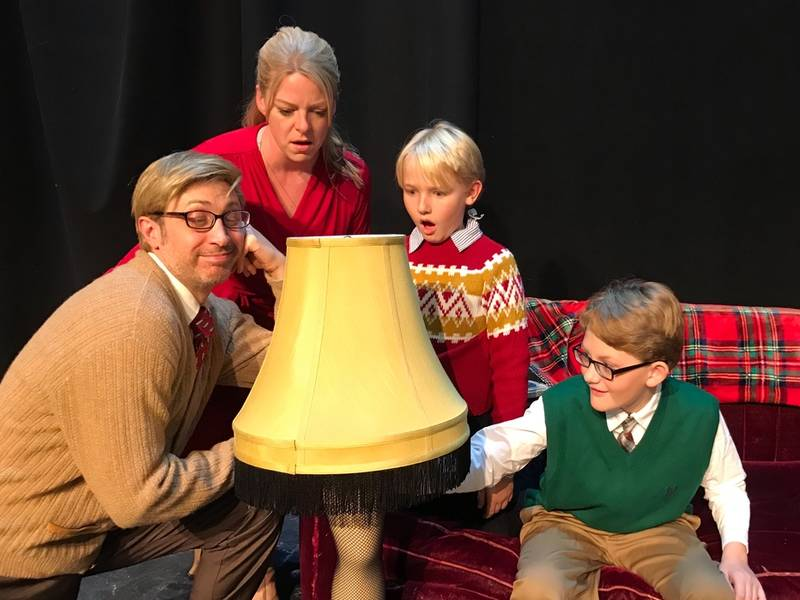 a christmas story opens friday at music mountain theatre - What Year Did A Christmas Story Come Out