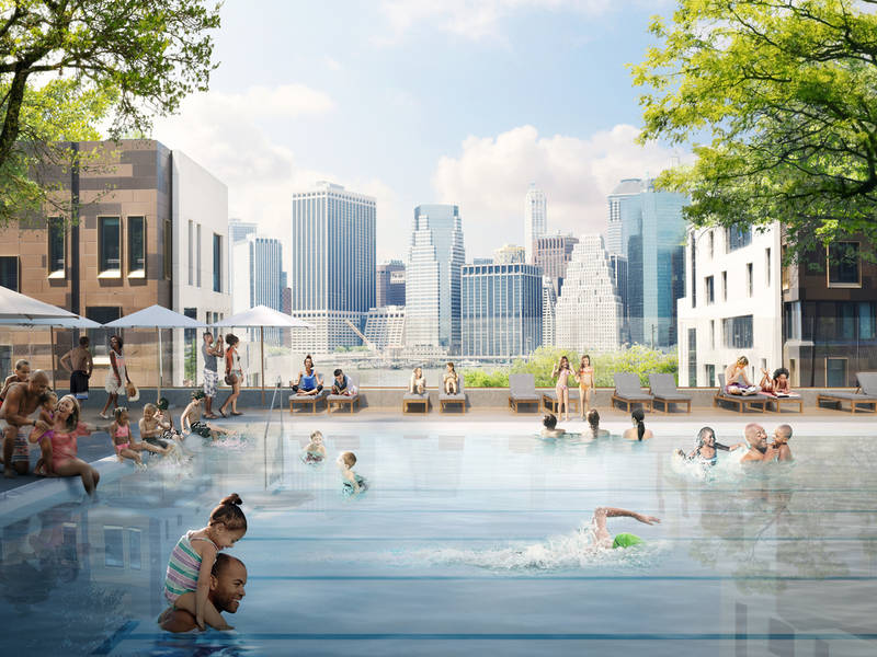 Brooklyn Bridge Park To Get Permanent Public Pool Patch