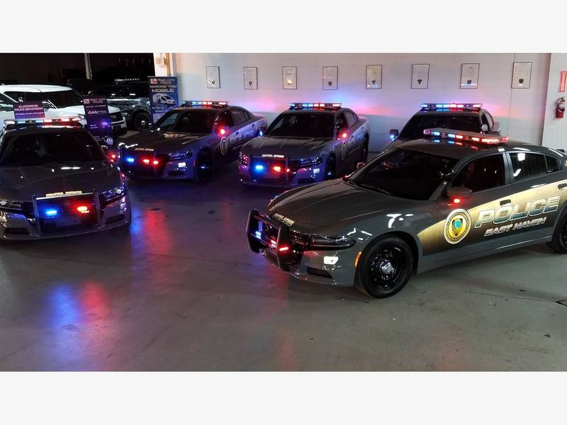 east haven police department squad cars have new look east haven
