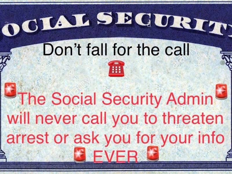 Guilford Police Warning Residents About Social Security Scam