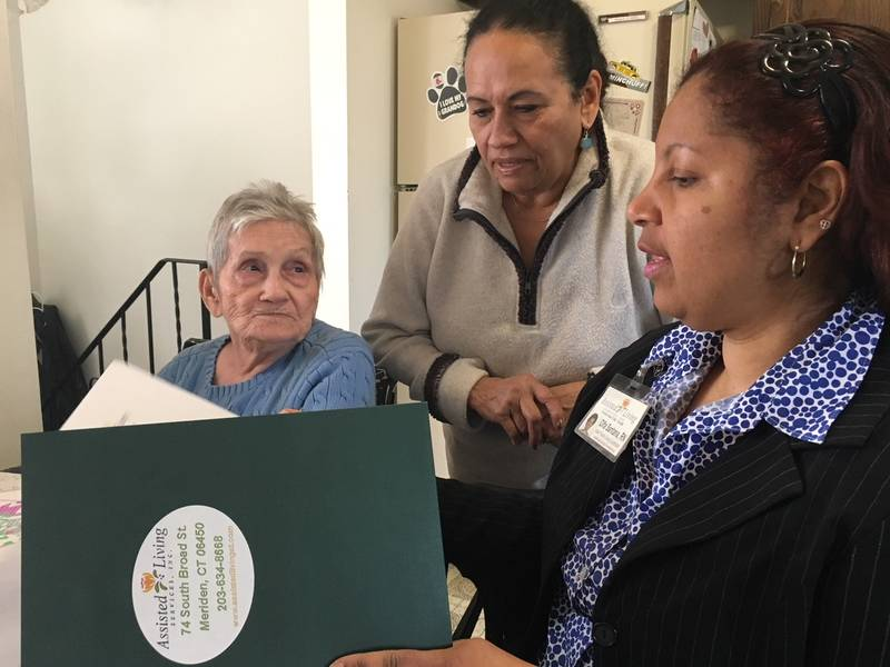 Ct Agency Helps Latino Families Care For Elderly Relatives Meriden