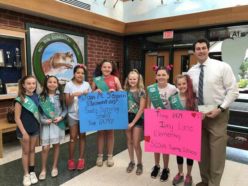 Girl Scout Junior Troop 6479 Earns Bronze Award  Ashburn -1186