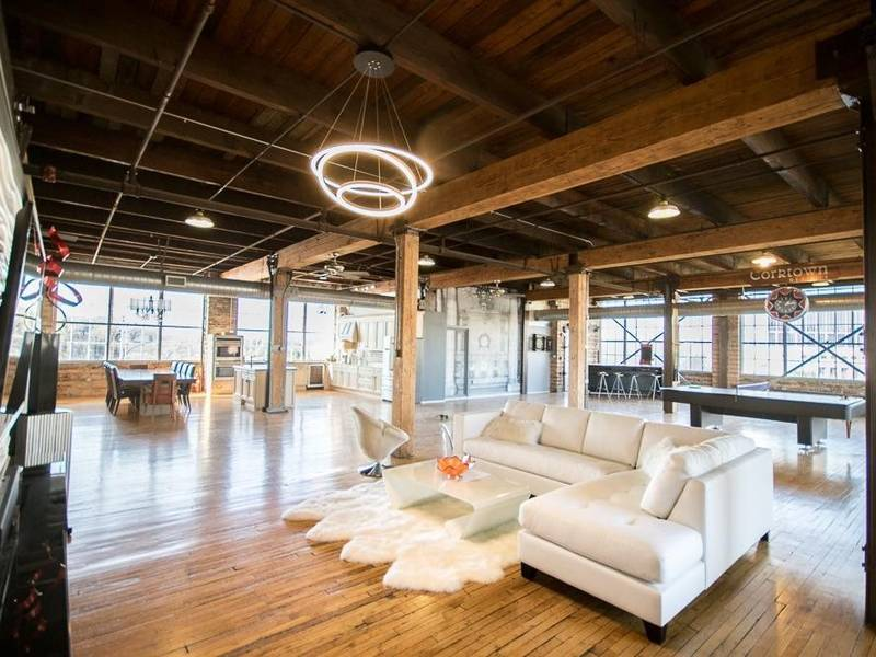 Corktown Warehouse Offers Authentic Luxury Loft Living
