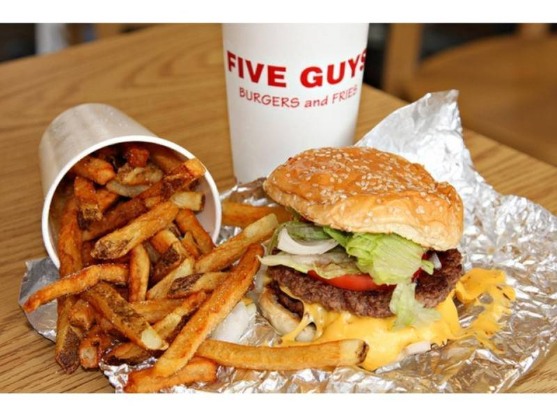 Image result for five guys burgers