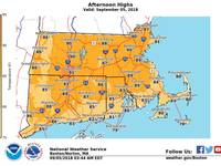 RI Temperatures Approaching Record Highs Thursday Post Thumbnail