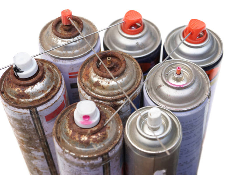 Spray Paint Fumes Ignite, Burn Easton Man