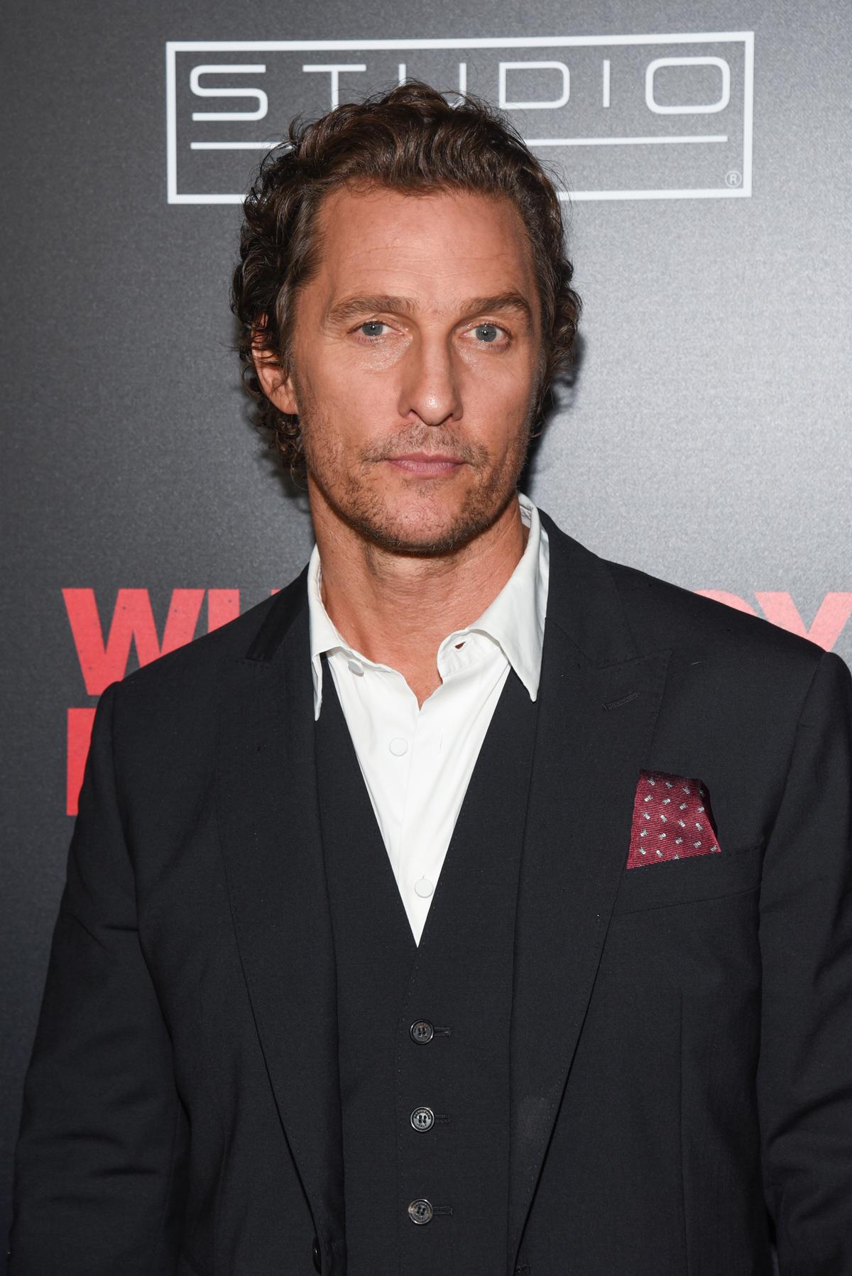 Matthew McConaughey Attends Film Screening Of 'White Boy ...