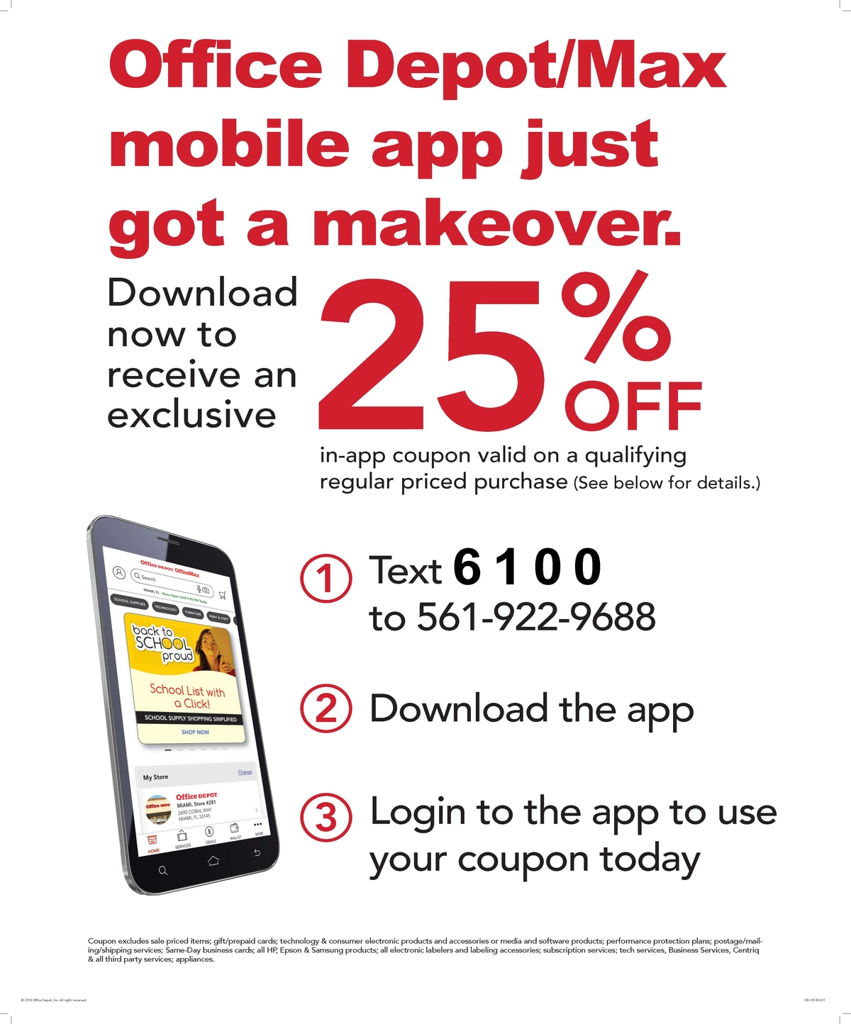 Get 25% OFF at Office Max/Office Depot - Plainfield, IL Patch