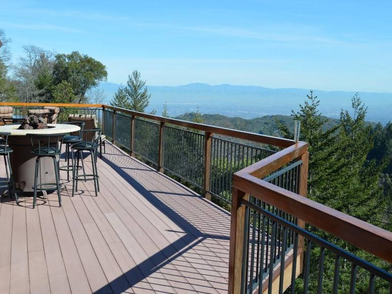 East Palo Alto Ca >> Spacious Wrap Around Deck Elevates Experience | Saratoga, CA Patch