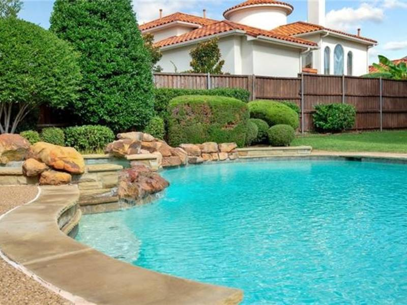 Traditional style home in plano is worth a visit plano tx patch for Public swimming pools in mckinney tx