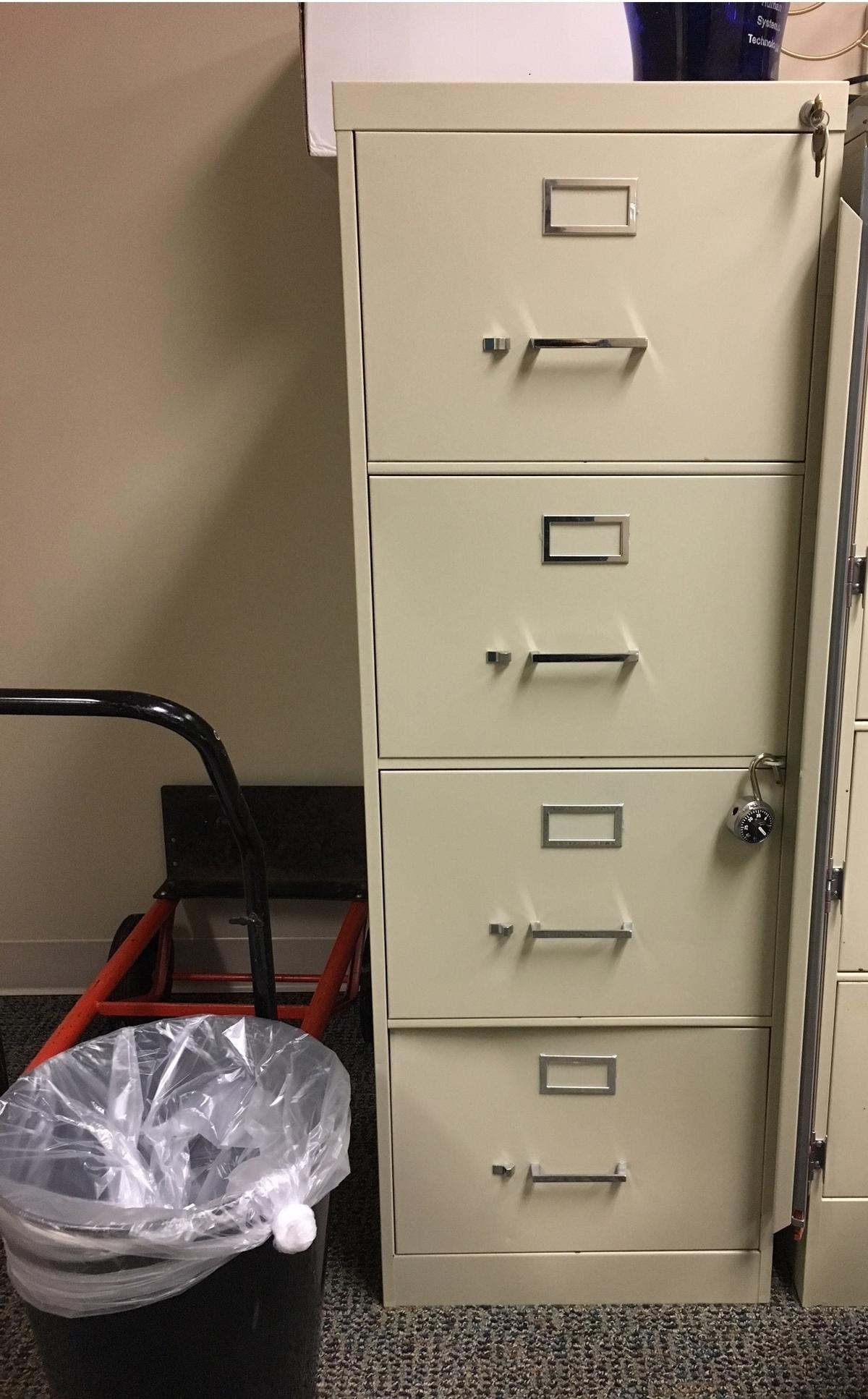 Locking (key Included) 2 Drawer LATERAL File Cabinet   Main Desk With  Supplies Drawers U003d 71u0027u0027 X 36u0027u0027   Ancillary Desk With Locking 2 Drawer  Lateral File ...