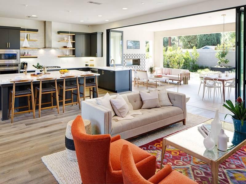 The newest trend in home design the indoor outdoor living - Interior design schools orange county ...
