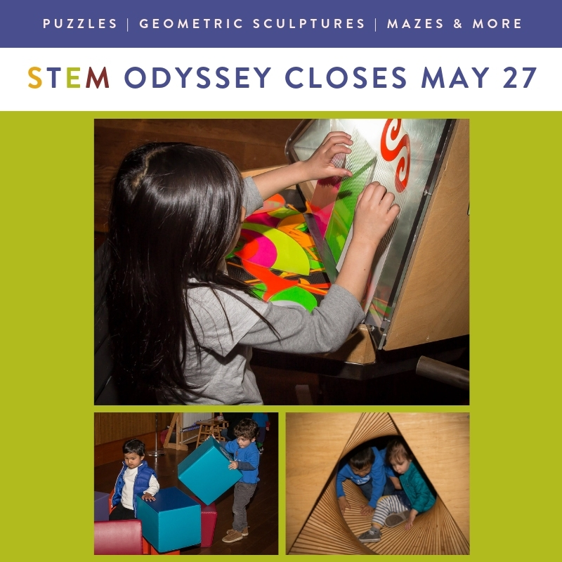 Experience CuriOdyssey's STEM Odyssey through Memorial Day!