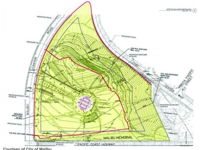 Pepperdine Malibu Campus Map.Plot Of Land Near Pepperdine In Malibu Becoming Cemetery Malibu