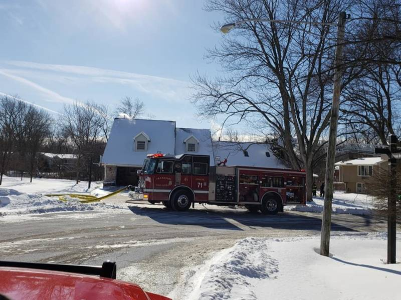 No Injuries In Frankfort Attic Fire Frankfort Il Patch