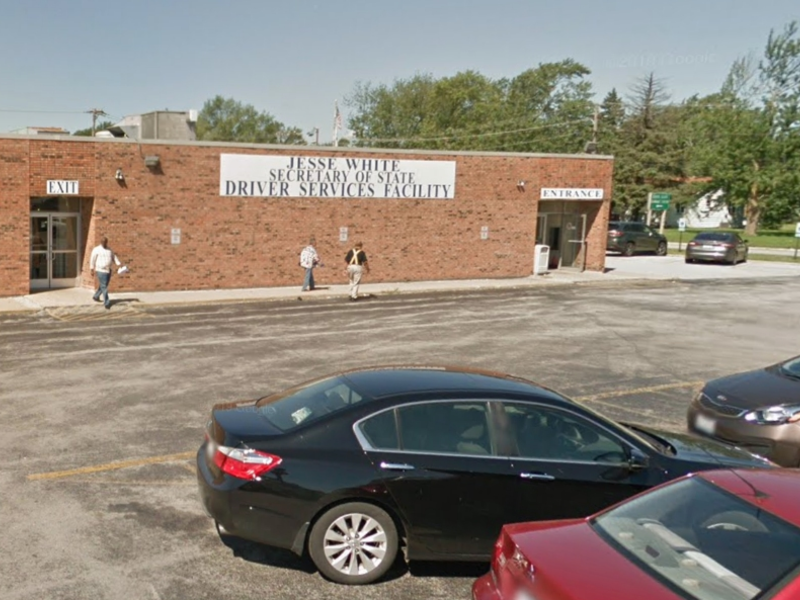 drivers license facility chicago heights illinois