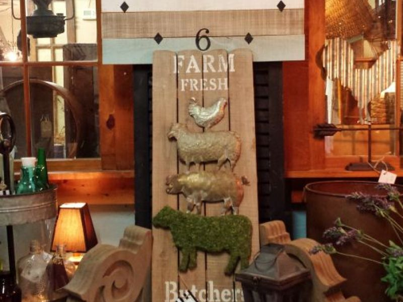 New farmhouse and vintage-inspired home decor at Villa and Farm ...