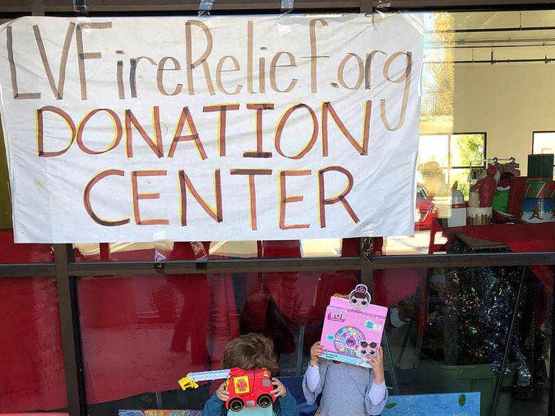 LV Fire Relief Joins Forces with Mama Haven