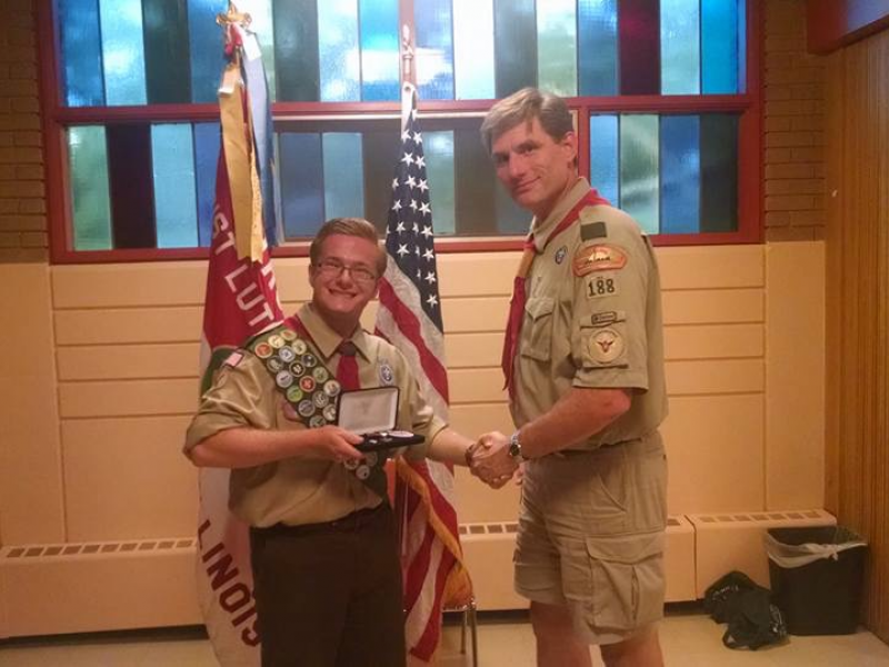new eagle scout for boy scout troop 188
