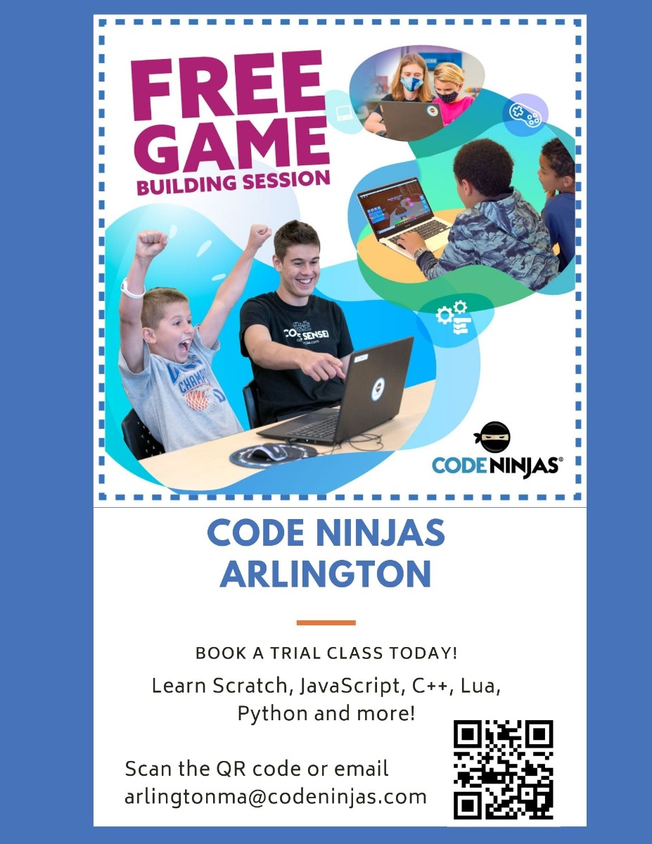 Free Introductory Coding Lesson - Arlington, MA Patch