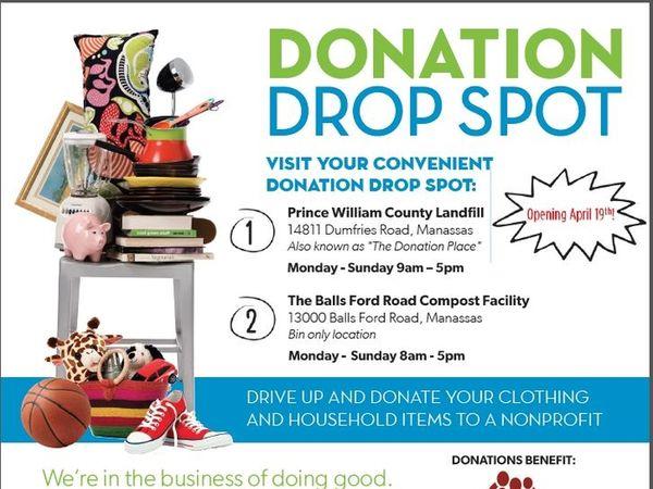 landfill s donation place reopens as the donation drop spot woodbridge va patch. Black Bedroom Furniture Sets. Home Design Ideas