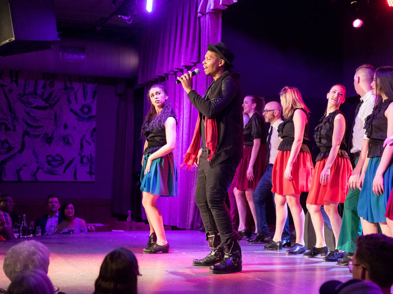 """Libertyville Native Performs in """"Sweet Tap Chicago"""""""