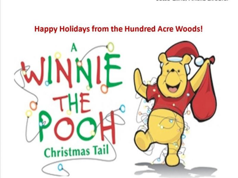 the media theatre has winnie the poohs christmas tail this holiday season - A Christmas Tail