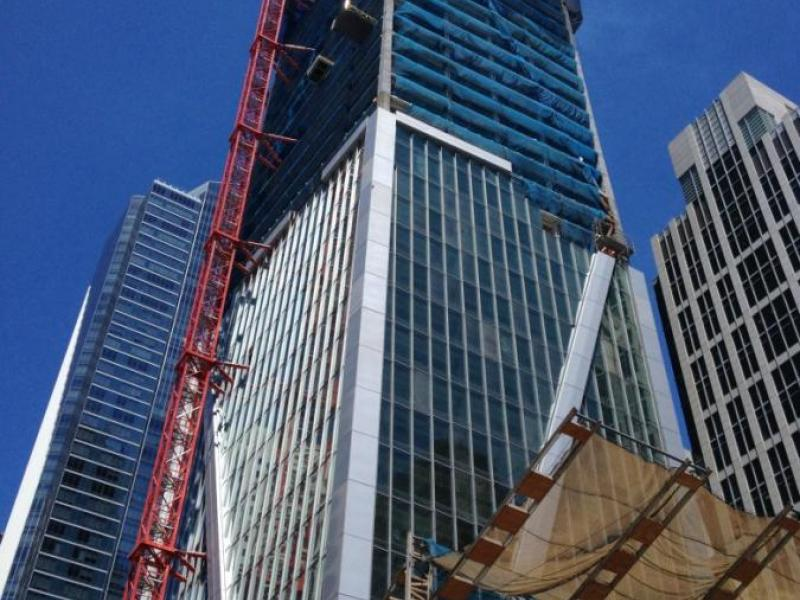 level 10 construction announces latest benchmarks for 181 fremont building sets new standards for earthquake
