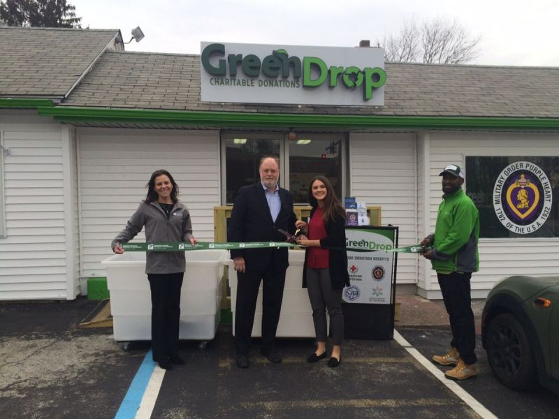 Greendrop Opens Fourth Charitable Giving Center In Delaware County Marple Newtown Pa Patch