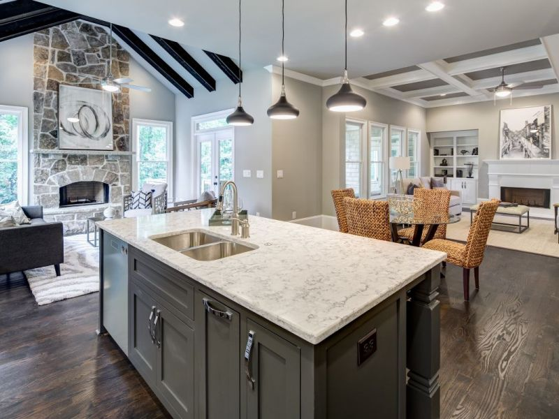 rockhaven homes features stunning luxury homes inside perimeter at