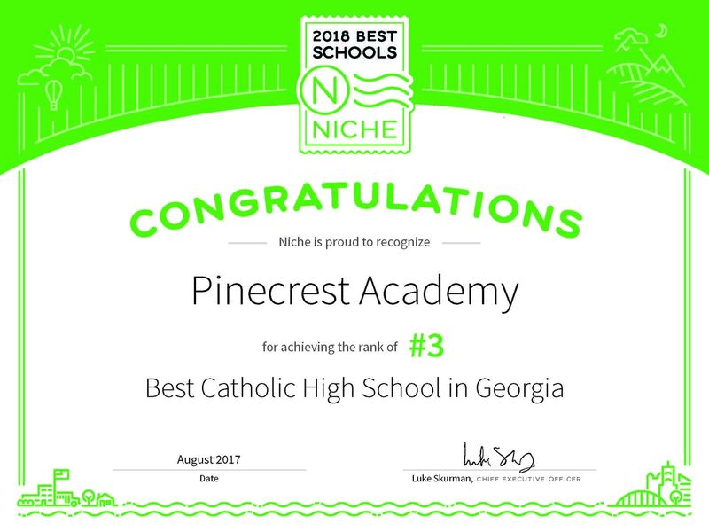 Pinecrest Academy Recognized As Top Catholic School Cumming Ga Patch
