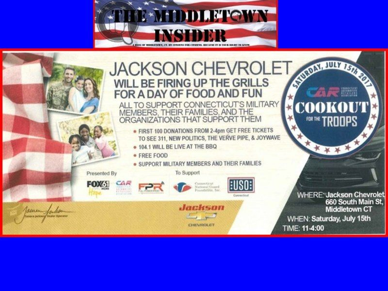 Cookout For The Troopu0027s At Jackson Chevrolet
