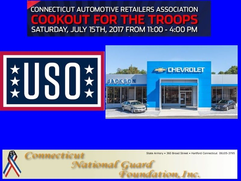 Cookout For The Troopu0027s. Jackson Chevrolet And The Connecticut ...
