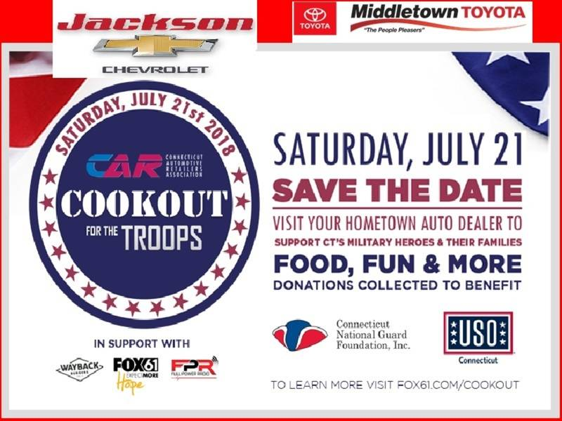 The 2nd Annual Cookout For The Troops!