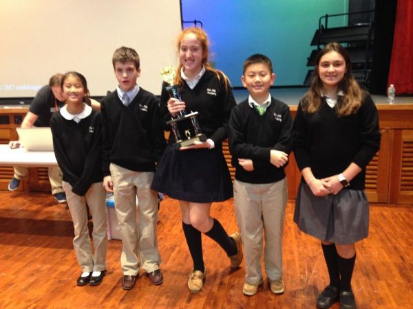 Oak Hill Academy Students Earn 1st Place School Trophy at ...
