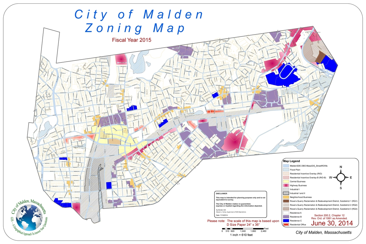 MultiFamily Dwellings In Malden Zoning Change Discussed Next Wk