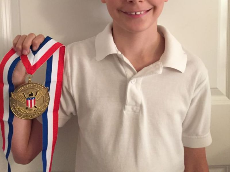 Local Boy Receives Recognition From White House For Service To Veterans Ardmore Pa Patch
