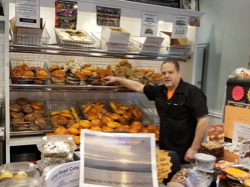 Hilltop Bagel Cafe Raises Awareness For RSD/CRPS